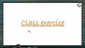 Chemical Coordination - Class Exercise (Session 3)