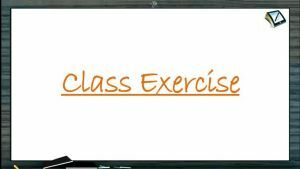 Chemical Equilibrium - Class Exercise (Session 2 & 3)