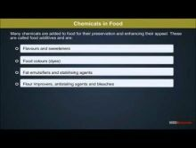 Class 12 Chemistry - Chemicals In Food Video by MBD Publishers
