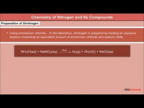 Class 12 Chemistry - Chemistry Of Nitrogen And Its Compounds Video by MBD Publishers