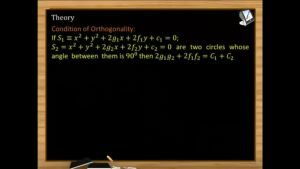 Circle - Condition Of Orthogonality (Session 9)