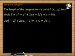 Circle - Length Of Tangent And Power Of A Point (Session 6)