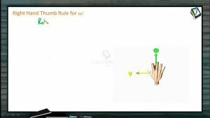 Circular Motion - Right Hand Thumb Rule For Omega (Session 1)