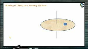 Circular Motion - Skidding Of Object On A Rotating Platform (Session 4)