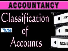 Class 11 Accountancy - Classification Of Accounts - Basics Of Accounting Video by Let's Tute