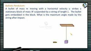 Collision - Ballistic Pendulum (Session 3)