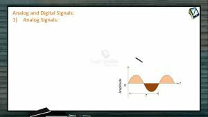 Communication System - Analog And Digital Signals (Session 1)
