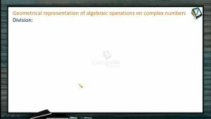 Complex Numbers - Geometry In Complex Numbers 3 (Session 8 & 9)
