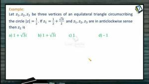 Complex Numbers - Problems 1 (Session 10 & 11)