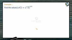 Complex Numbers - Problems 1 (Session 13 & 14)