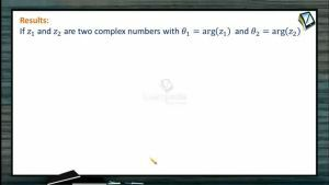 Complex Numbers - Results 2 (Session 7)