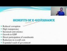 Computer Science And IT - E-Governance In India Chapter-II Part II Video by Pluto Innovations