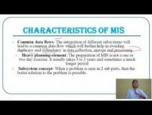 Computer Science And IT - Management Information System Chapter-I Part III Video by Pluto Innovations