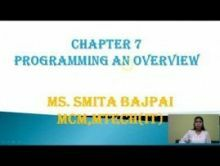Computer Science And IT - Programming An Overview Chapter-VII Part I Video by Pluto Innovations