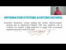 Computer Science And IT - Systems Audit An Overview Chapter-VIII Part II Video by Pluto Innovations