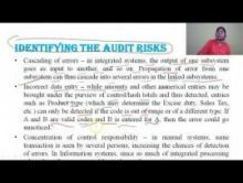 Computer Science And IT - Systems Audit An Overview Chapter-VIII Part V Video by Pluto Innovations