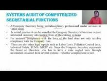 Computer Science And IT - Systems Audit An Overview Chapter-VIII Part VI Video by Pluto Innovations