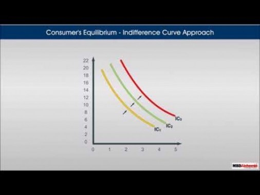 Class 12 Microeconomics - Consumers Equilibrium - Indifference Curve Approach Video by MBD Publishers