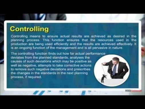 Class 12 Business - Controlling Video by MBD Publishers