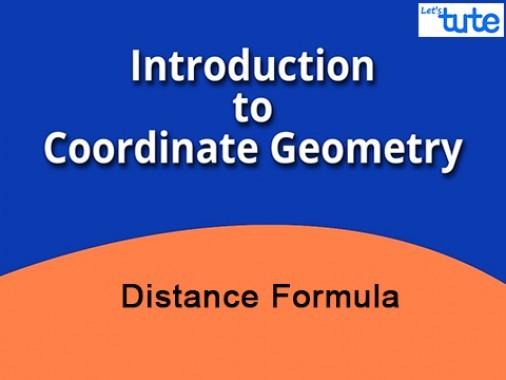 Class 10 Mathematics - Coordinate Geometry - Distance Formula Video by Lets Tute