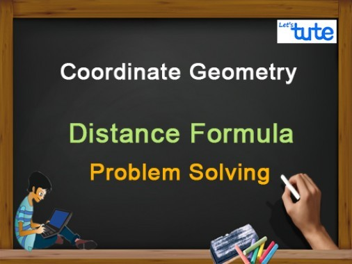 Class 10 Mathematics - Coordinate Geometry - Distance Formula - Problem Solving Video by Lets Tute