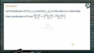 Coordinate System - Coordinates Of Point R Which Divides Pq (Session 1)
