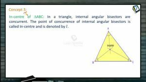 Coordinate System - Incenter Of Triangle (Session 2)