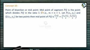 Coordinate System - Point Of Bisection Or Mid Point (Session 1)