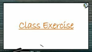 Coordination Compounds - Class Exercise (Session 1)