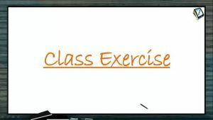Coordination Compounds - Class Exercise (Session 2)
