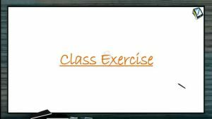 Coordination Compounds - Class Exercise (Session 8)