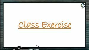 Current Electricity - Class Exercise (Session 4)