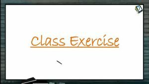 Current Electricity - Class Exercise (Session 8)