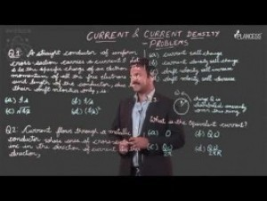 Current Electricity - Current & Current Density Problem Solving Video By Plancess