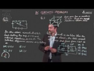 Current Electricity - DC Circuit Problems-I Video By Plancess