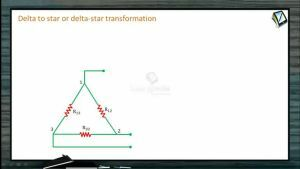 Current Electricity - Delta To Star Or Delta-Star Transformations (Session 7)