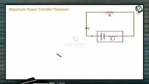 Current Electricity - Maximum Power Transfer Theorem (Session 9)