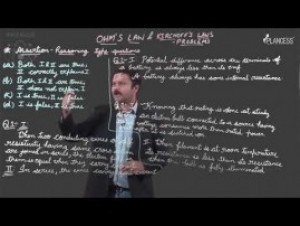Current Electricity - Ohms Law And kirchhoffs Law Problem Video By Plancess