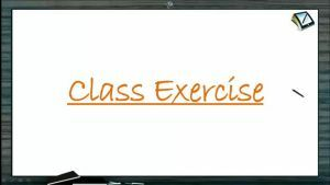 D And F Block Elements - Class Exercise (Session 1)