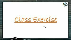 D And F Block Elements - Class Exercise (Session 2)