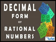 Class 9 & 10 Mathematics - Decimal Form Of Rational Numbers Video by Lets Tute