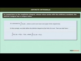 Class 12 Maths - Definite Integrals Video by MBD Publishers