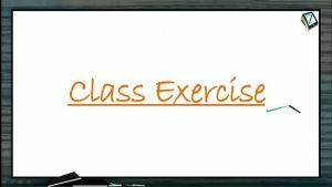 Definite Integrals - Class Exercise-I (Session 7)
