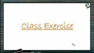 Definite Integrals - Class Exercise-I (Session 8)