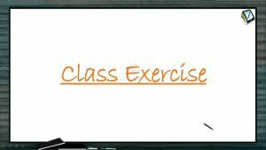 Definite Integrals - Class Exercise-II (Session 8)