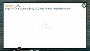 Definite Integrals - Examples-I (Session 7)