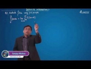 Definite Integration - Evaluation Of Limit Using Definite Integral Video By Plancess
