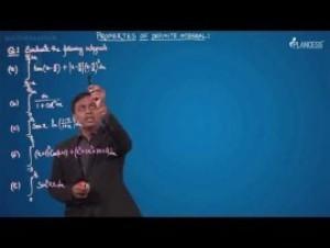 Definite Integration - Problems On Properties-VIII - IX - X & XI Video By Plancess