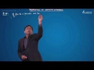 Definite Integration - Properties Of Definite Integral P-XV Video By Plancess