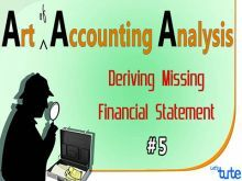 Class 11 & 12 Accountancy - Deriving Missing Financial Statement Video by Let's Tute